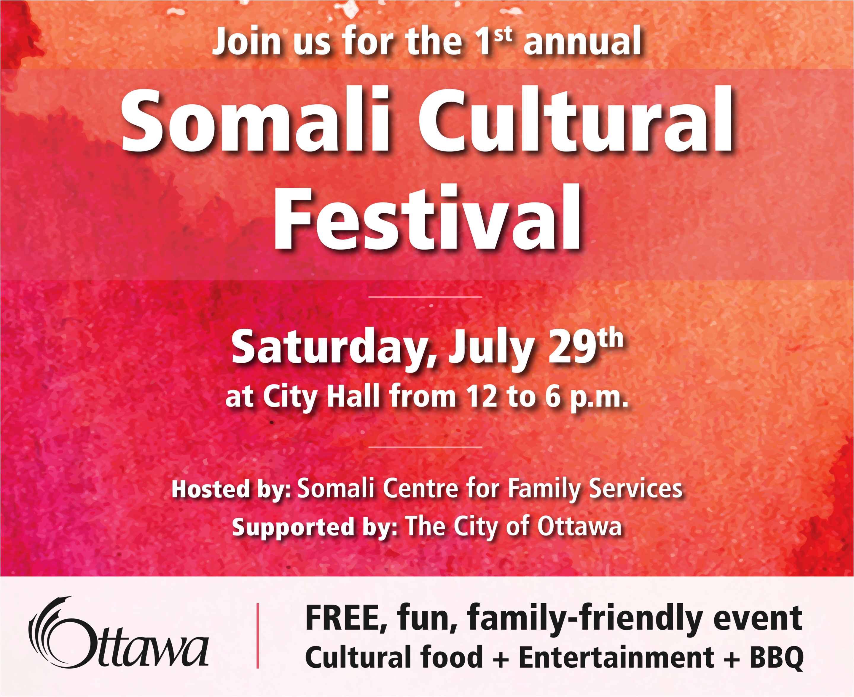 First Annual Somali Cultural Festival to take place in Ottawa - Jim